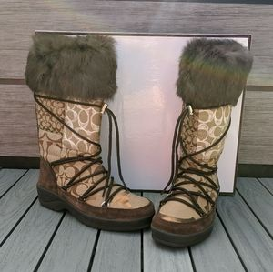 NIB Coach Laurilyn boots